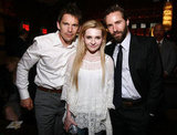 Ethan Hawke and Alessandro Nivola posed with Abigail Breslin at the Janie Jones premiere afterparty at the Tribeca Film Festival in April 2011.