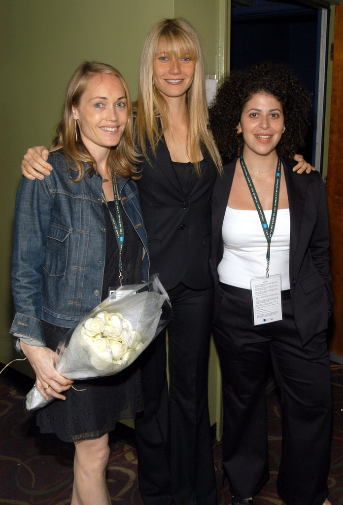 Gwyneth Paltrow sported bangs as she posed during a screening of Ashtanga, NY at the Tribeca Film Festival in May 2003.