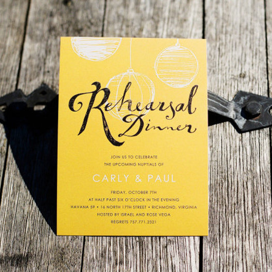 Rehearsal Dinner Invitations Etiquette is one of our best ideas you might choose for invitation design