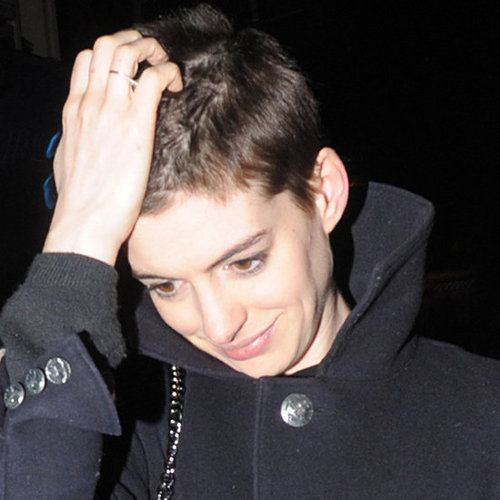 Anne Hathaway Gets a Pixie Crop