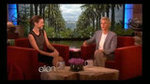 Miranda Kerr and Ellen DeGeneres Exchange Silly Gifts on Air