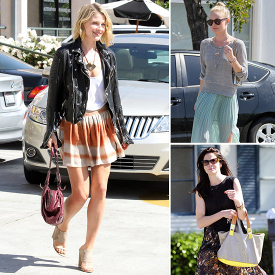 Three Springy Celeb Skirt Looks — Mini, Midi, and Maxi — to Mimic Pronto!