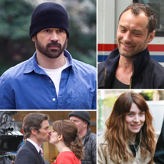 Colin Farrell, Jude Law, and More Stars on Set!