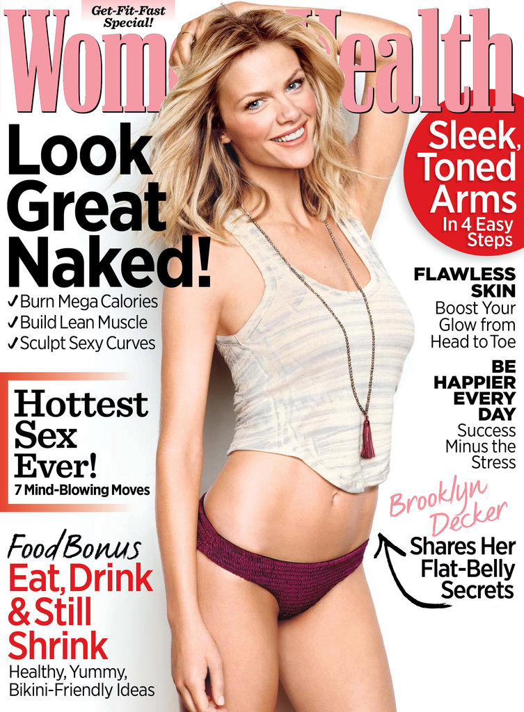 Brooklyn Decker posed on the cover of Women's Health.