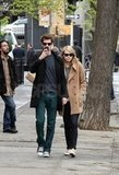 Emma Stone and Andrew Garfield Stick Close, Very Close