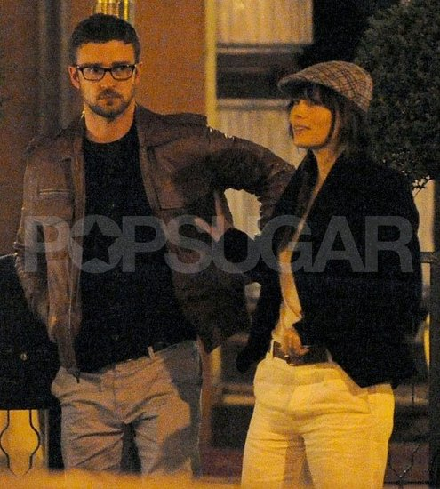 Justin Timberlake Has a Sweet Dinner Date With Fiancée Jessica Biel