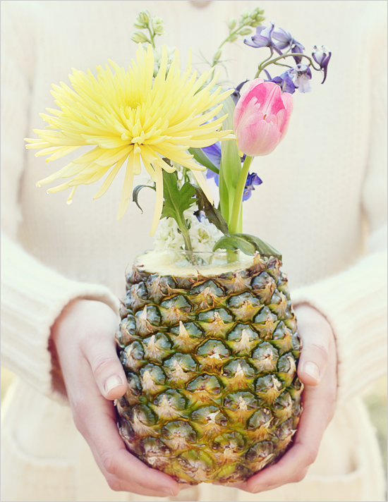 Pineapple Centerpieces