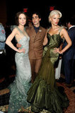 Coco Rocha, Zac Posen, and Crystal Renn