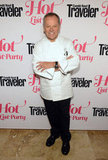 Wolfgang Puck made an appearance at the Condé Nast Traveler Hot List Party in LA.