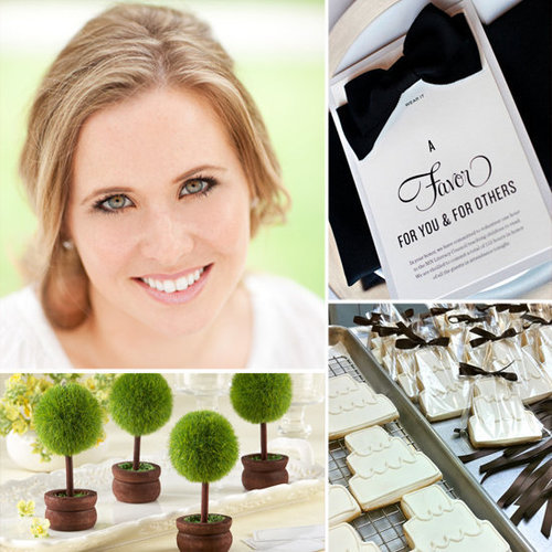 Très talked to wedding expert Abby Larson to find favors that give back.