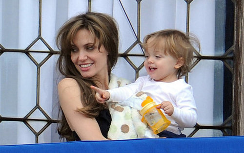 Angelina Jolie took in Venice with Knox in March 2010.