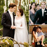 Buzz has a roundup of all the sweet Twilight movie wedding pictures.