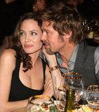 In January 2008, Brad cozied up to Angelina at the Critics' Choice Awards.