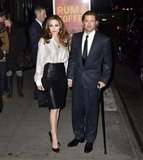 Brad Pitt and Angelina Jolie made a January 2012 trip to NYC.