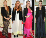 Molly Sims has a craving for blazers and maxidresses — see how to copy her cute looks now.