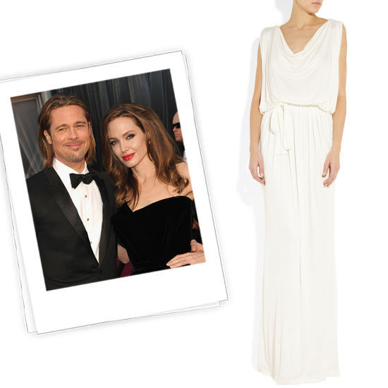 Angelina and Brad are engaged! And so are 15 other stylish couples. See what dresses we think these starlets should wear down the aisle.
