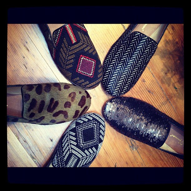 Sweet Matt Bernson Fall '12 loafers.