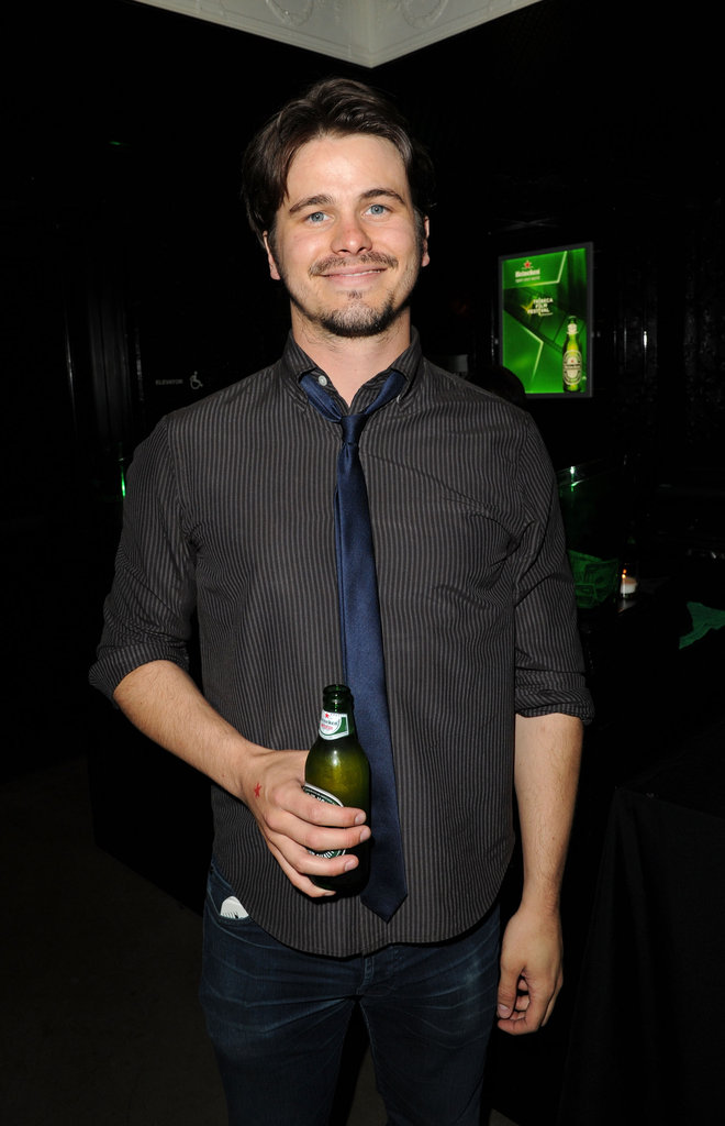 Jason Ritter attended the Tribeca Film Festival.
