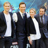 The Avengers Photo Call in Rome and Berlin with Chris Hemsworth, Scarlett Johansson, Mark Ruffalo