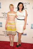 Sarah Silverman and Michelle Williams posed together on the red carpet.