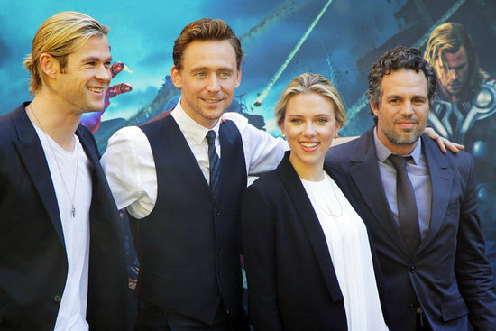 The Avengers Take Europe as They Look Forward to a Super Opening Weekend