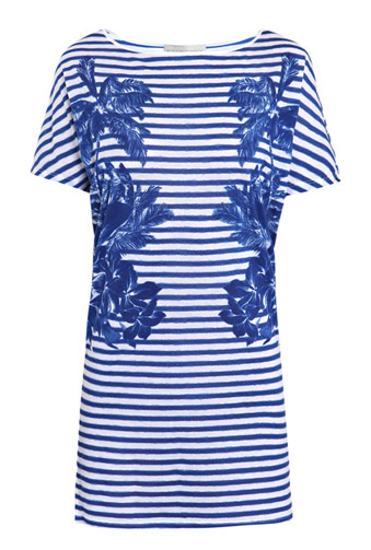 Stella McCartney Palm Blurred-Print Dress ($220)