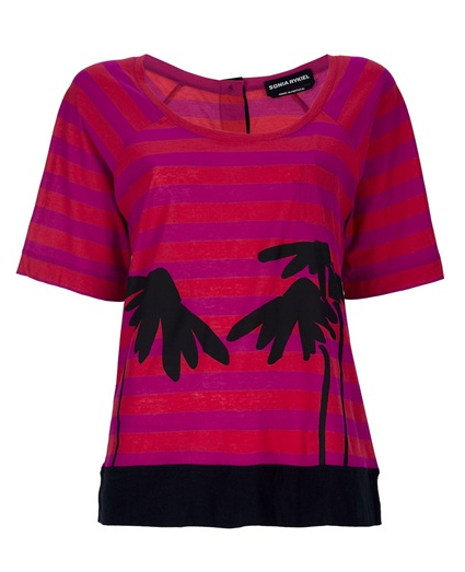 Sonia Rykiel Palm T-Shirt ($204)