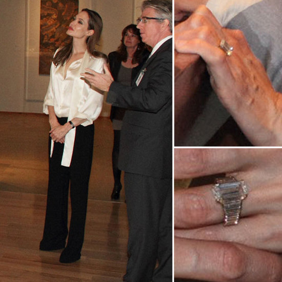 Take a New Look at Angelina Jolie's Engagement Ring