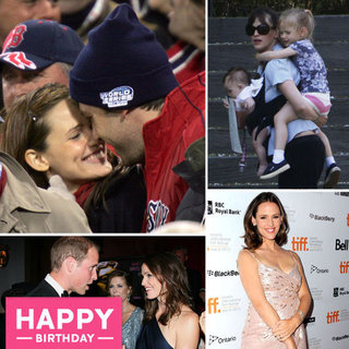 Jennifer Garner Birthday Pictures