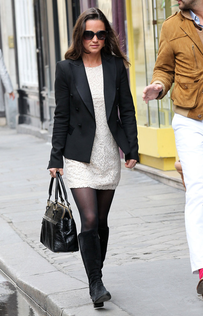 Pippa Middleton strolled Paris.