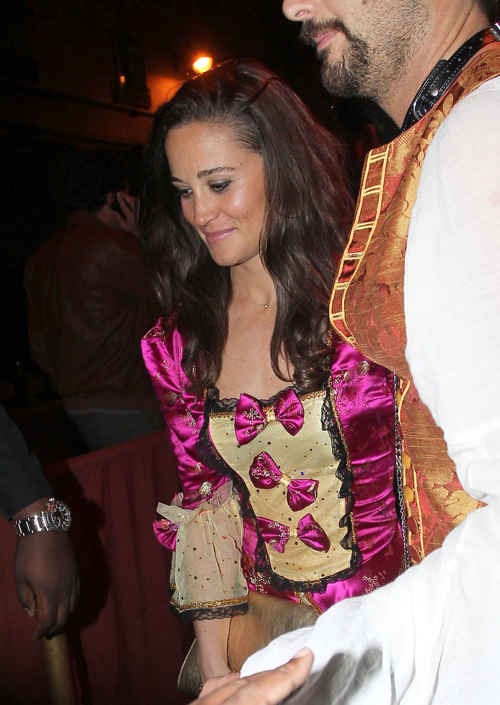 Pippa Middleton went to a costume party.