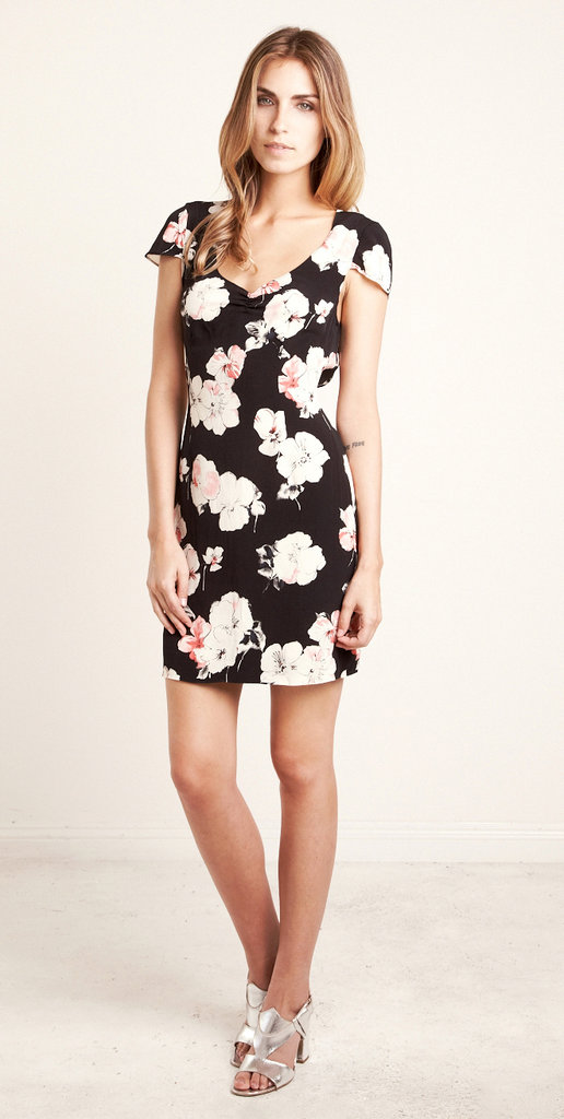 This floral dress has a cool '90s-grunge feel.  The Reformation One of a Kind Floral Dress ($165)