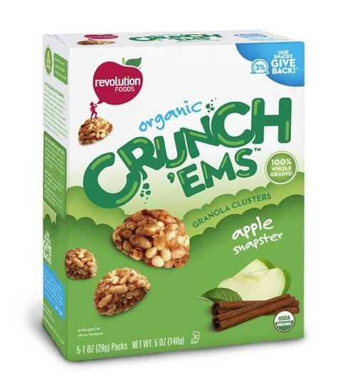 Revolution Foods Crunch&#039;Ems Apple Snapsters