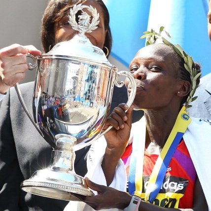 Women's Winner 2012 Boston Marathon
