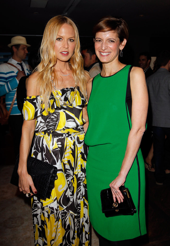 Rachel Zoe and Glamour magazine's editor-in-chief Cindi Leive spent time catching up at Glamour's book party in West Hollywood.