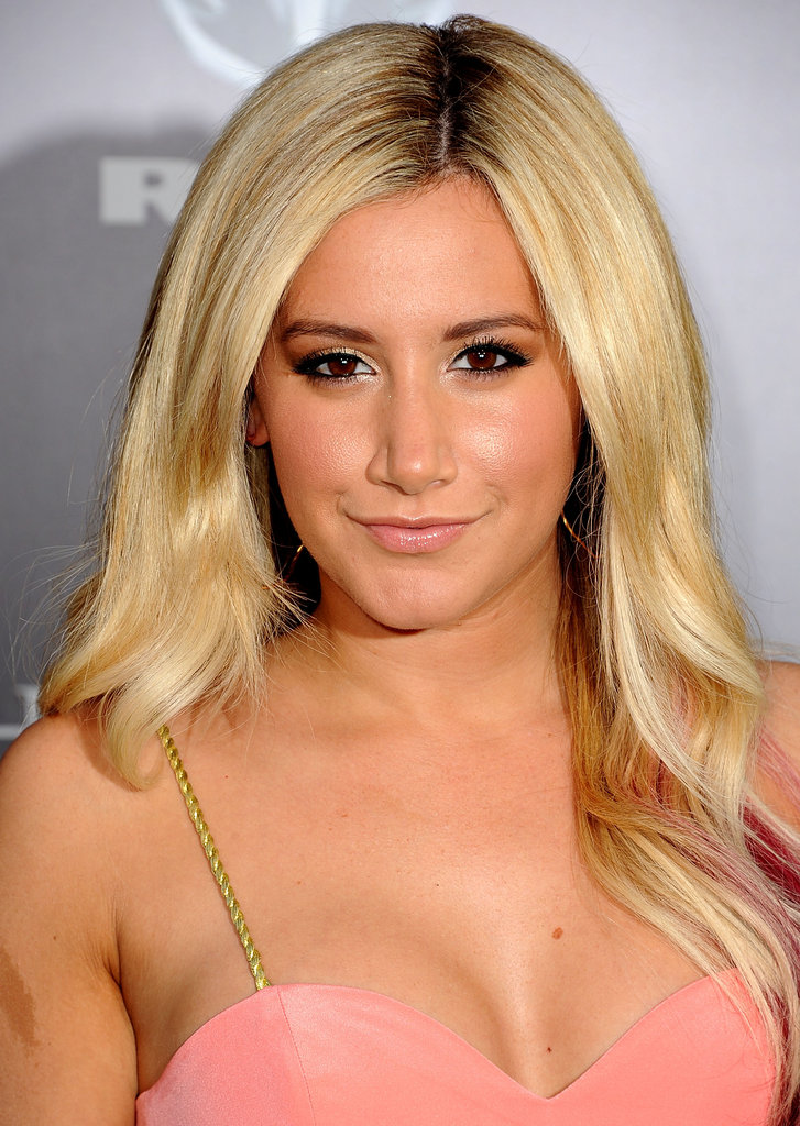 Ashley Tisdale supported friend Zac Efron at the Lucky One premiere in LA.
