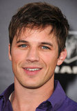 Matt Lanter made an appearance at The Lucky One premiere in LA.
