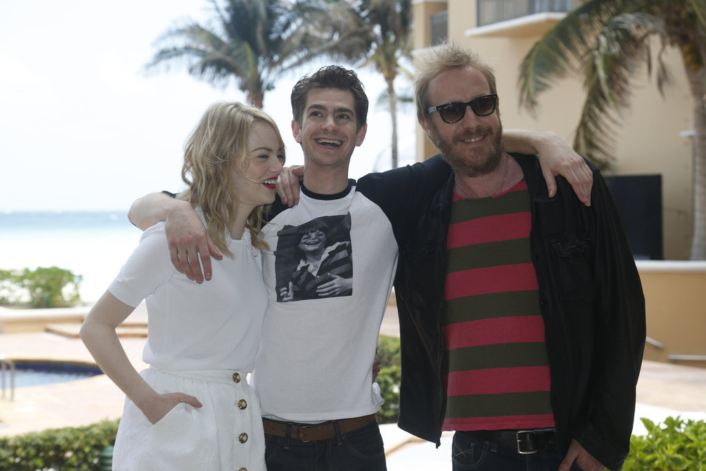 Andrew Garfield and Emma Stone Couple Up in Cancun