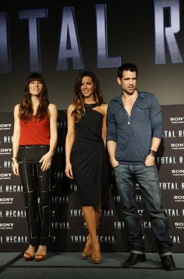 Jessica Biel Jets From Justin to Cancun and Talks Total Recall