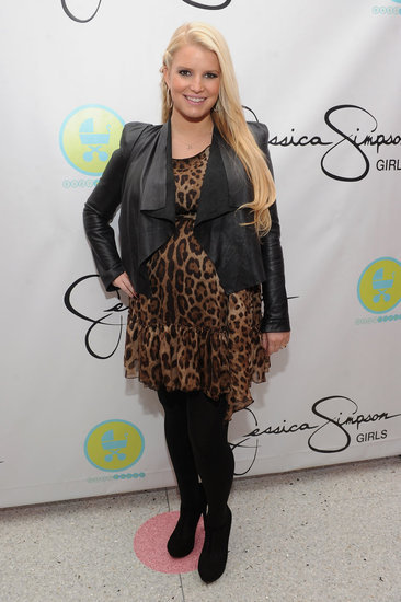 Jessica Simpson Loves Her Leopard