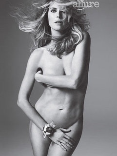 Heidi Klum Goes Nude For Allure Magazine May 2012