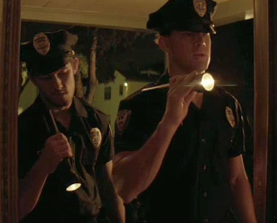 Channing Tatum dresses in disguise as a cop.