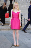 Dakota Fanning attended the Vanity Fair Party at the 2012 Tribeca Film Festival.