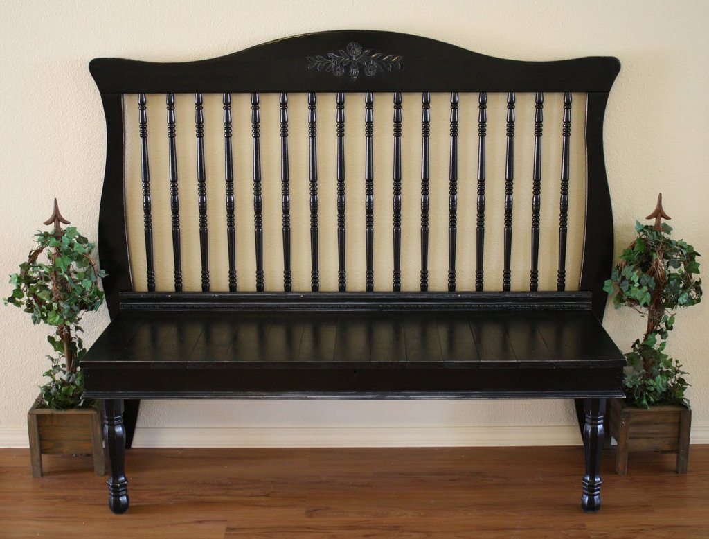 An Antique-Inspired Bench