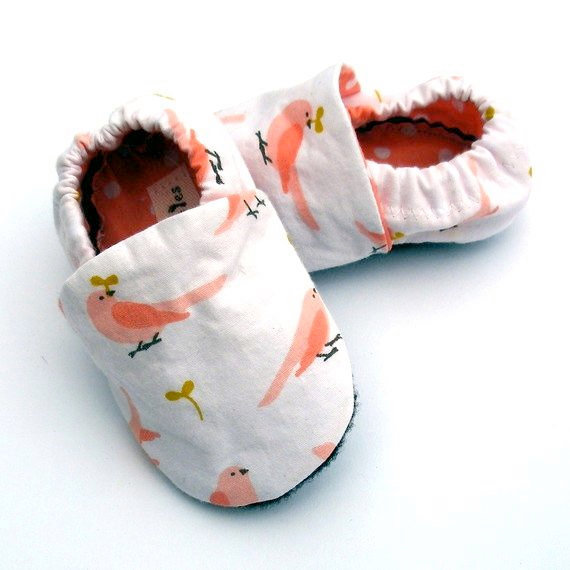 Growing Up Wild Baby Booties