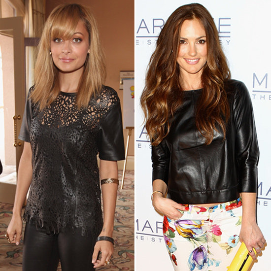 Celebs Ditch Leather Jackets For Leather Tops — Shop the Edgy Trend!