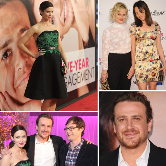 Jason Segel Gets Close With Michelle Williams at His Big Tribeca Debut!