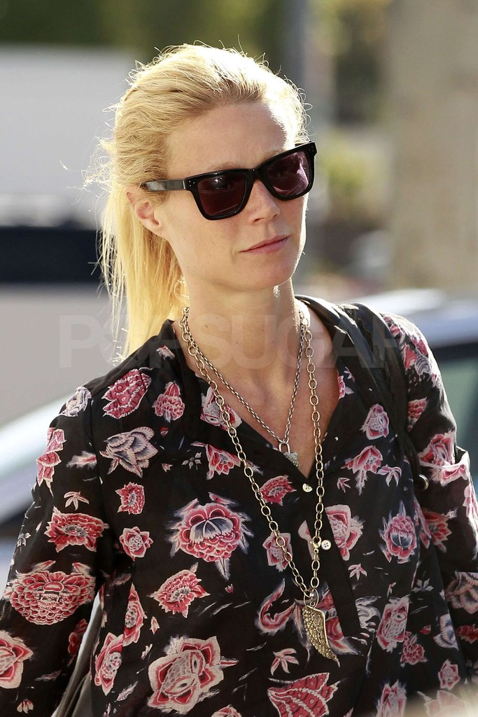 Gwyneth Paltrow sported a pair of shades in LA.