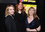 Julia Roberts, Emma Roberts, and Lisa Roberts Gillan posed together for a photo at the premiere of Jesus Henry Christ.