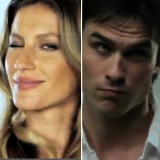 Gisele Bundchen and Ian Somerhalder World Environment Day